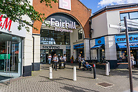 Fairhill Shopping Centre, Ballymena, N Ireland, UK, September, 2019, 201909131517<br /><br />Copyright Image from Victor Patterson, Belfast, UK<br /><br />t: +44 28 9066 1296 (from Rep of Ireland 048 9066 1296)<br />m: +44 7802 353836<br /><br />victorpattersonbelfast@gmail.com<br />www.victorpatterson.com<br /><br />Please see my Terms and Conditions of Use at https://www.victorpatterson.com/page2<br />It is IMPORTANT that you familiarise yourself with them.<br /><br />Images used online incur an additional cost and must be visibly watermarked i.e. © Victor Patterson within the body of the image and copyright metadata must not be deleted. Images used on the Internet have a size restriction of 4kbs and are chargeable at rates available at victorpatterson.com.<br /><br />This image is only available for the use of the download recipient i.e. television station, newspaper, magazine, book publisher, etc, and must not be passed on to any third party. It is also downloaded on condition that each and every subsequent usage is notified within 7 days to victorpattersonbelfast@gmail.com<br /><br />The right of Victor Patterson to be identified as the author is asserted in accordance with The Copyright Designs And Patents Act (1988). All moral rights are asserted.