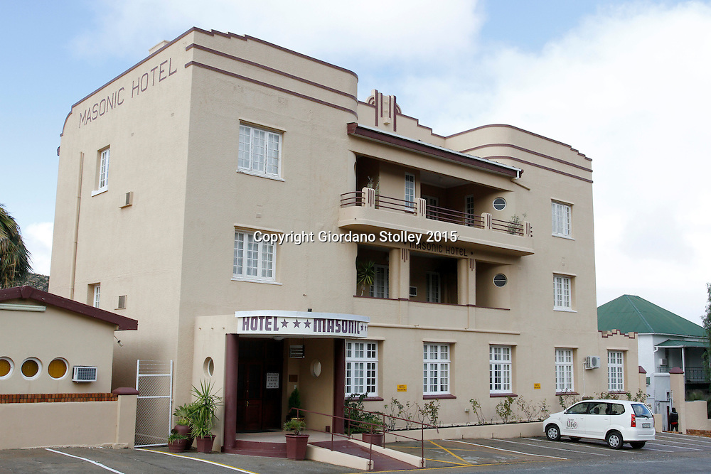 SPRINGBOK - 5 July 2014 - The 26-roomed Masonic Hotel has ong been a favourite among travellers passing through the Northern Cape town of Springbok. Picture: Giordano Stolley/Allied Picture Press/APP