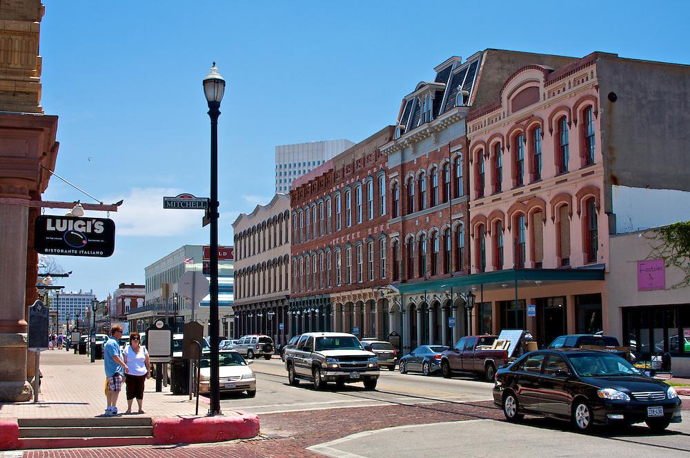 The Strand, Galveston, TX