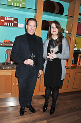 A dinner hosted by Ruinart Champagne in honour of David Linley was held at Linley, 60 Pimlico Road, London SW1 on 8th December 2011.<br /> VISCOUNT LINLEY and ELSA