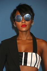 June 5, 2017 - New York, New York, U.S. - Singer/actress JANELLE MONAE attends the 2017 CFDA Fashion Awards held at Hammerstein Ballroom (Credit Image: © Nancy Kaszerman via ZUMA Wire)