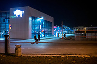 Bialystok, 23.03.2020. Pustki na ulicach Bialegostku podczas epidemii koronawirusa N/z bialostocki PKS odwolal wiekszosc kursow autobusow, pusty dworzec fot Michal Kosc / AGENCJA WSCHOD