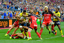 June 5, 2017 - Saint Denis, Seine Saint Denis, France - TIMANI player of the ASM Clermont-Auvergne, during the final of the French Rugby Championship Top 14 against Rugby Club Toulonnais at the Stade de France - St Denis France.ASM Clermont beat RC Toulon 22-16 (Credit Image: © Pierre Stevenin via ZUMA Wire)