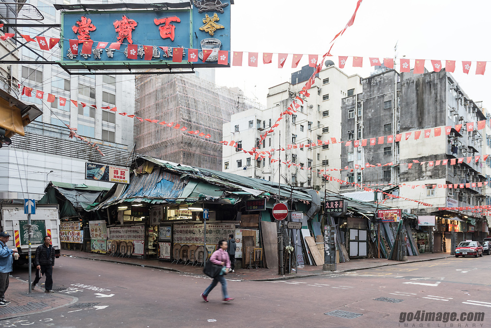 Kowloon one of the most densed place in the world, photos from Yua Ma Thei, Jordan to Mong Kok