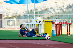 July 4, 2018 - Gelendzhik, Russia - 180704 Marcus Berg of the Swedish national football team at a practice session during the FIFA World Cup on July 4, 2018 in Gelendzhik..Photo: Petter Arvidson / BILDBYRÃ…N / kod PA / 92081 (Credit Image: © Petter Arvidson/Bildbyran via ZUMA Press)