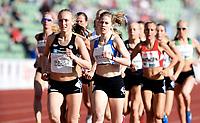 Friidrett ,  11. juni 2015 , Diamond League , Bislett Games , Oslo<br />  Atheltics<br /> 1500 m<br /> Anniken Amos Rud , NOR