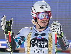 18.12.2016, Grand Risa, La Villa, ITA, FIS Ski Weltcup, Alta Badia, Riesenslalom, Herren, 2. Lauf, im Bild Manuel Feller (AUT) // Manuel Feller of Austria reacts after his 2nd run of men's Giant Slalom of FIS ski alpine world cup at the Grand Risa race Course in La Villa, Italy on 2016/12/18. EXPA Pictures © 2016, PhotoCredit: EXPA/ Johann Groder