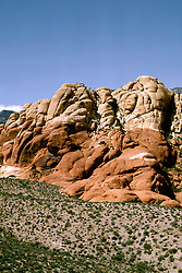 NV: Las Vegas, Nevada, Calico Hills, Red Rock Canyon Park,  Photo: nvvega105, Photo copyright: Lee Foster, www.fostertravel.com, 510-549-2202, lee@fostertravel.com