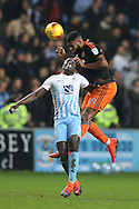 Ethan Ebanks-Landell of Sheffield Utd during the English League One match at the Rioch Arena Stadium, Coventry. Picture date: December 15th, 2016. Pic Simon Bellis/Sportimage