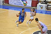 Trieste 8 Settembre 2012 Qualificazioni Europei 2013 Italia Bielorussia<br /> Foto Ciamillo<br /> Nella foto : andrea cinciarini