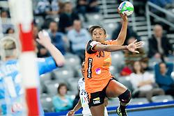 17-12-2014 CRO: EHF EK Nederland - Frankrijk, Zagreb<br /> Jurswailly Luciano #30 of Netherlands during handball match between Netherlands and France at 11th EHF European Women's Handball Championship Hungary-Croatia 2014<br /> <br /> *** USE NETHERLANDS ONLY ***