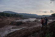 Brumadinho, Minas Gerais, Brazil, 26 Jan 2019:<br /> Residents of the Córrego do Feijão rural neighborhood are looking for survivors in the mud, one day after the rupture of the tailings dam of Vale S.A.<br /> Photo: Avener Prado