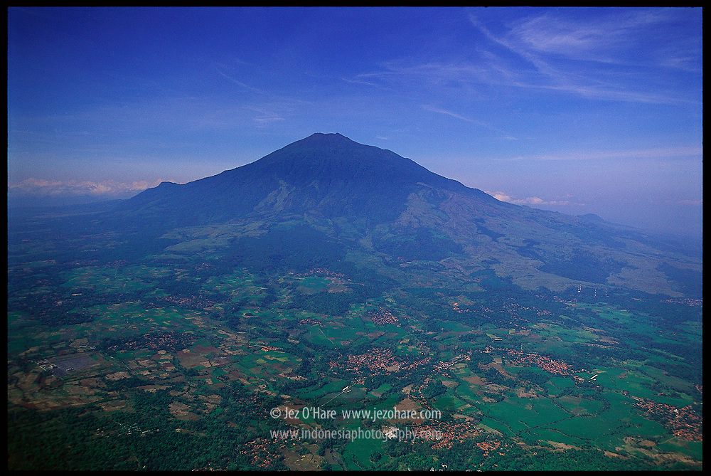 North face of Mount Ceremai, Cirebon, Jawa Barat, Indonesia.