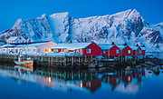 Lofoten is an archipelago and a traditional district in the county of Nordland, Norway. Lofoten is known for a distinctive scenery with dramatic mountains and peaks, open sea and sheltered bays, beaches and untouched lands. Though lying within the Arctic Circle, the archipelago experiences one of the world's largest elevated temperature anomalies relative to its high latitude.