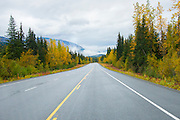 The Seward Highway is beautiful any time of the year to travel, but especially pretty in the fall