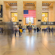 Interior hall of Grand Central Terminal, New York