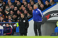 Chelsea Manager Guus Hiddink during the Barclays Premier League match between Chelsea and Manchester United at Stamford Bridge, London, England on 7 February 2016. Photo by Phil Duncan.