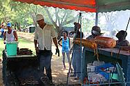Cafe by the river in Bayamo, Granma, Cuba.
