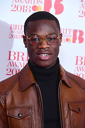 J Hus attending the Brit Awards 2018 Nominations event held at ITV Studios on Southbank, London. PRESS ASSOCIATION Photo. Picture date: Saturday January 13, 2018. Photo credit should read: Ian West/PA Wire. EDITORIAL USE ONLY