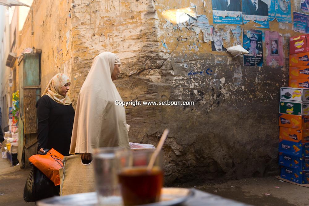 Egypt . Cairo : area behind AL FAQUAHANY mosque   Islamic Cairo -   Cairo   NM109