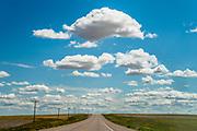 Road & Clouds, Hwy 2, Joplin, MT