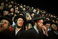 Orthodox jews  during the Lag BaOmer celebrations in the orthodox distric of Mea Shearim