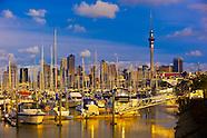 New Zealand-Auckland-Harbor
