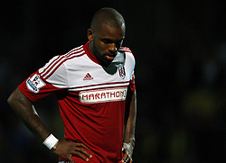 Fulham's Darren Bent - Photo mandatory by-line: Matt Bunn/JMP - Tel: Mobile: 07966 386802 27/08/2013 - SPORT - FOOTBALL - Pirelli Stadium - Burton - Burton Albion V Fulham -  Capital One Cup - Round 2