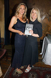 Left to right, LADY LIZA CAMPBELL and writer KATHLEEN DE TESSARO at a party to celebrate the publication of Title Deeds by Liza Campbell at the First Floor, 186 Portobello Road, London on 14th June 2006.<br /><br />NON EXCLUSIVE - WORLD RIGHTS