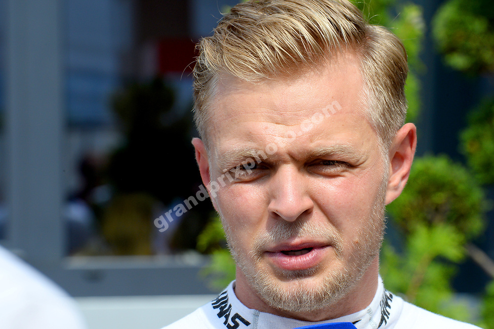 Kevin Magnussen (Haas-Ferrari) after qualifying for the 2019 Monaco Grand Prix. Photo: Grand Prix Photo