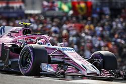 October 21, 2018 - Austin, United States - Motorsports: FIA Formula One World Championship; 2018; Grand Prix; United States, FORMULA 1 PIRELLI 2018 UNITED S GRAND PRIX , Circuit of The Americas#31 Esteban Ocon (Sahara Force India F1 Team) (Credit Image: © Hoch Zwei via ZUMA Wire)