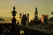 Paris city hall. Paris view from bell towers. PR278A