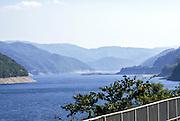 Shirakawa-go river Japan