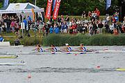 Eton. Great Britain. JW4X Final , FISA Junior  World Rowing Championships. Dorney Lake, Nr Windsor. Saturday, 06/08/2011 [Mandatory credit: Intersport Images]