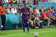 Barcelona Neymar during the International Champions Cup match between Real Madrid and FC Barcelona at the Hard Rock Stadium, Miami on 29 July 2017.