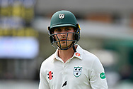 Tom Fell of Worcestershire during the Specsavers County Champ Div 1 match between Somerset County Cricket Club and Worcestershire County Cricket Club at the Cooper Associates County Ground, Taunton, United Kingdom on 22 April 2018. Picture by Graham Hunt.