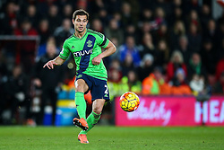 Cedric Soares of Southampton in action - Mandatory by-line: Jason Brown/JMP - Mobile 07966 386802 01/03/2016 - SPORT - FOOTBALL - Bournemouth, Vitality Stadium - AFC Bournemouth v Southampton - Barclays Premier League