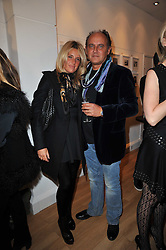 FRANK & ANNA SCOLARO at a party to launch Alistair Taylor-Young's new book 'The Phone Book' held at The Little Black Gallery, 13A Park Walk, London SW10 on 18th January 2011.
