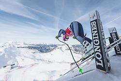 09.01.2020, Keelberloch Rennstrecke, Altenmark, AUT, FIS Weltcup Ski Alpin, Abfahrt, Damen, 1. Training, im Bild Elena Curtoni (ITA) // Elena Curtoni of Italy in action during her 1st training run for the women's Downhill of FIS ski alpine world cup at the Keelberloch Rennstrecke in Altenmark, Austria on 2020/01/09. EXPA Pictures © 2020, PhotoCredit: EXPA/ Johann Groder