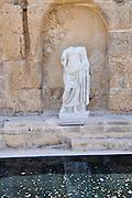 The Caesarea Nymphaeum (public fountain), Israel