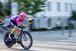 Diego Ulissi of Lampre-Merida during Stage 1 of cycling race 21st Tour of Slovenia 2014 - Time Trial 8,8 km in Ljubljana, on June 19, 2014 in Slovenia. Photo By Urban Urbanc / Sportida