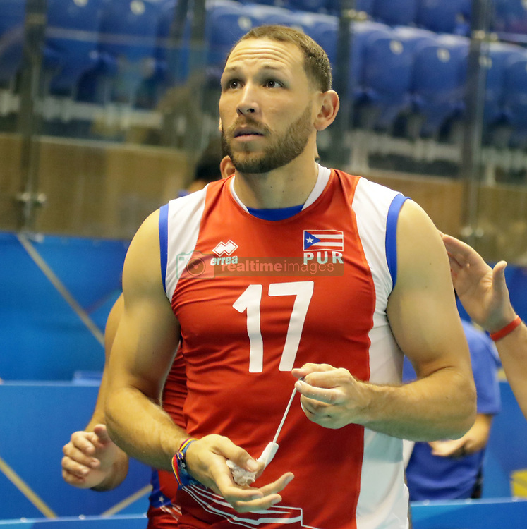 September 12, 2018 - Varna, Bulgaria - Jessie COLON (Puerto Rico), .FIVB Volleyball Men's World Championship 2018, pool D, Iran vs Puerto Rico,. Palace of Culture and Sport, Varna/Bulgaria, .the teams of Finland, Cuba, Puerto Rico, Poland, Iran and co-host Bulgaria are playing in pool D in the preliminary round. (Credit Image: © Wolfgang Fehrmann/ZUMA Wire)
