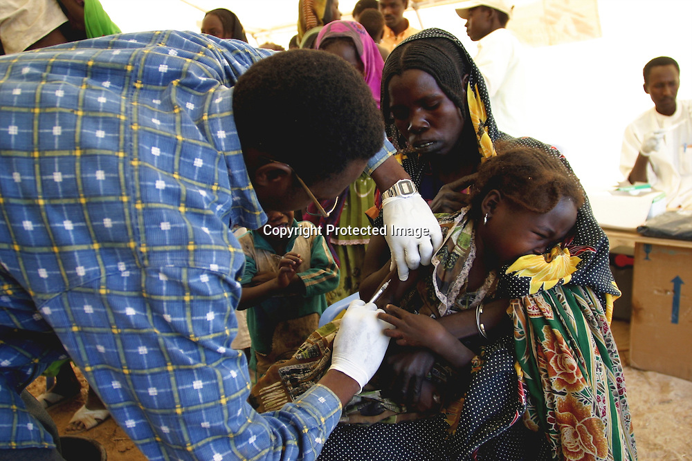 vaccination campaign in Chad