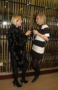 Sidney Finch and Alice Evans. Charles Finch and Dr. Franco Beretta host launch of Beretta stor at 36 St. James St. London. 10  January 2006. ONE TIME USE ONLY - DO NOT ARCHIVE  © Copyright Photograph by Dafydd Jones 66 Stockwell Park Rd. London SW9 0DA Tel 020 7733 0108 www.dafjones.com