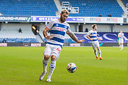 Queens Park Rangers forward Charlie Austin (45) during the EFL Sky Bet Championship match between Queens Park Rangers and Derby County at the Kiyan Prince Foundation Stadium, London, England on 23 January 2021.
