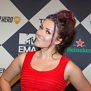 NLD/Amsterdam/20151012 - MTV EMA Pre Party, Mascha Feokstitova