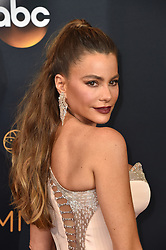 Sofia Vergara attends the 68th Annual Primetime Emmy Awards at Microsoft Theater on September 18, 2016 in Los Angeles, California. Photo by Lionel Hahn/ABACAPRESS.COM