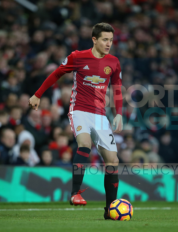 Manchester United's Ander Herrera in action during the Premier League match at Old Trafford Stadium, London. Picture date December 26th, 2016 Pic David Klein/Sportimage