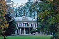 Montgomery Place, Annandale-on-Hudson, New York, Mansion fall