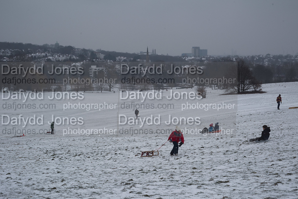 Parliament Hill, Hampstead Heath, 1 March 2018